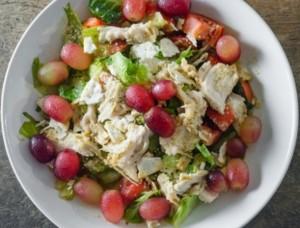 Hähnchen Käse Salat