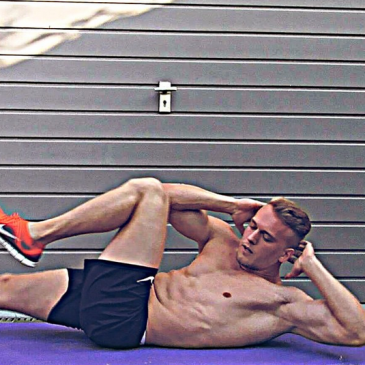 Bauchmuskel Training (ohne Geräte)